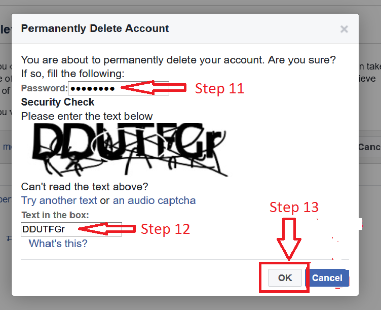 How to Delete your Facebook Account - 75.4KB
