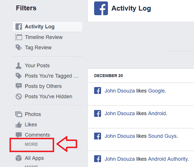 How to Delete your Facebook Search History?